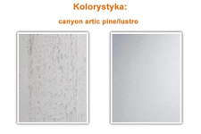 Szafa Alfa - canyon arctic pine