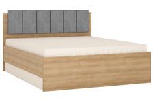 łóżko 160cm LYON JASNY TYP LYOZ04