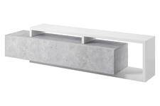 szafka RTV Bota TYP40 biały/beton colorado