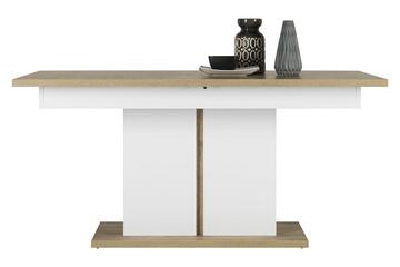 stół Irma IM-13 dąb/biały