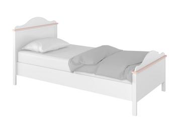 łóżko z materacem 90cm LUNA LN-08