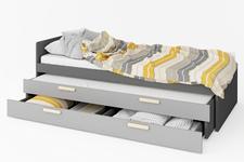 łóżko 90cm z materacem Pok PO-13