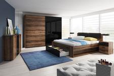 łóżko 180 cm Galaxy