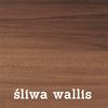 szafa Twister 3 - śliwa wallis z lustrem