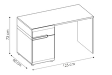 biurko Linate TYP 80