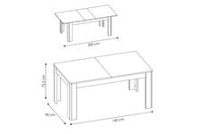 stół Cortina TYP CNAT01