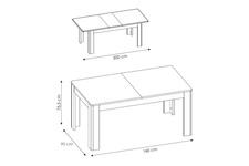 stół Cortina TYP CNAT03