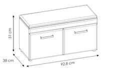 ławka do przedpokoju Cortina TYP CNAG05