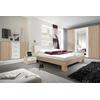 łóżko 180cm z szafkami nocnymi Vera 52 dąb sonoma/biel