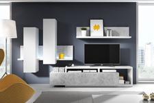 półka Bota TYP01 biały/beton colorado