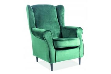 fotel Baron Velvet zielony