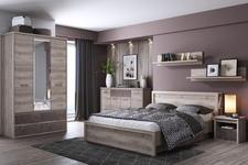 łóżko 160cm Jazz z półkami