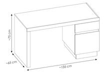 biurko LYON JASNY TYP LYOB01