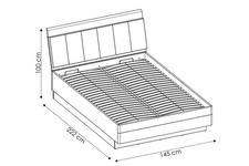 łóżko 140cm Monaco TYP MOAL01