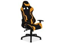 fotel obrotowy Viper żółty