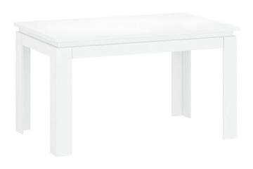 LINGO stół rozkładany 135/184 [S] biały połysk