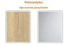 szafa Alfa 200cm sonoma jasny
