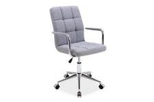 fotel obrotowy Q-022 szara tkanina