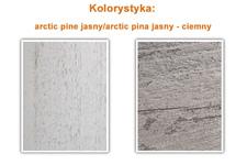 szafa Vera 20 4D - arctic pine jasny 224ZDH20