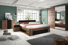 łóżko 160cm Beta 22ZB1691 dąb monastery