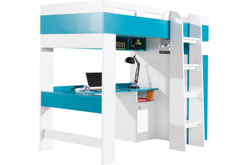 łóżko 90cm piętrowe Mobi M20